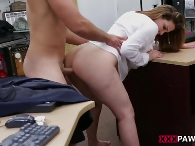 Sweet amateur ass in need of money