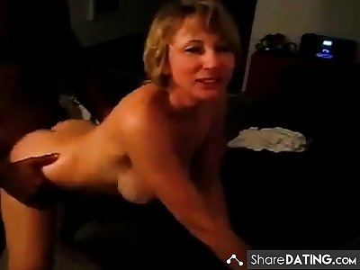 Hubby films horny Doll addicted connected with BBC (interracial cuckold)