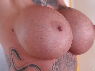 Sexy milf stranded and forced fuck in threesome