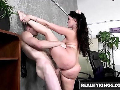 RealityKings - Monster Amble - (Brick Danger, Ryan Smiles) - Office Fling