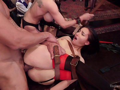 Severe BDSM porn of the defied females