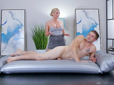 Doggy and hard missionary be proper of be imparted to murder curvy ass masseuse mom