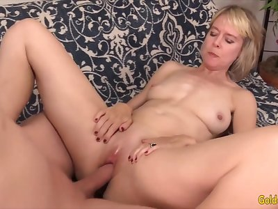 Golden Slut - Missionary Fucking With an Older Widely applicable Compilation